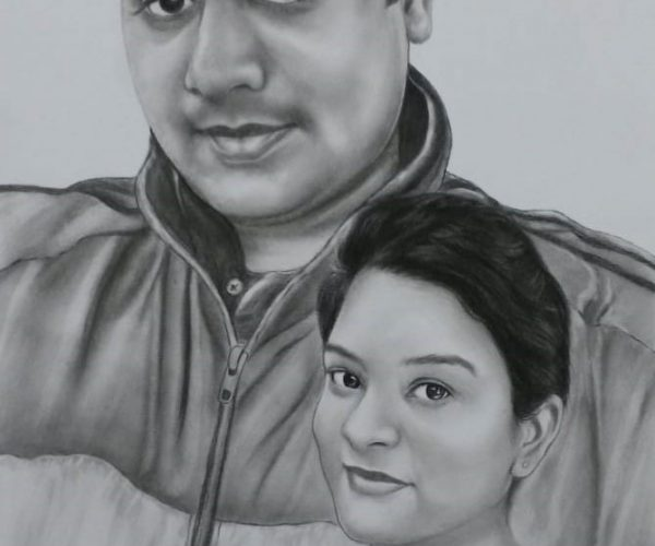 Portrait Painting in Delhi