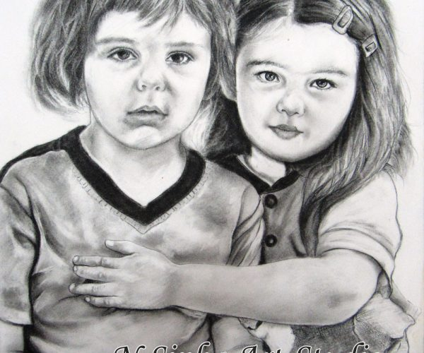 Hand Drawn Portraits Drawing