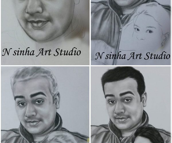 How to Draw Realistic Sketching Portraits Painting